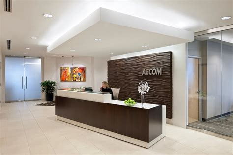 Best 20 Office Lobby Designs With Beautiful Lighting And