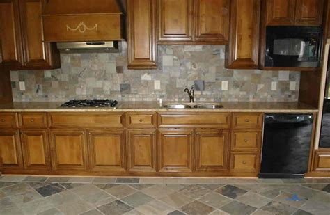 slate backsplashes for kitchens the kitchen backsplash combine art with functionality