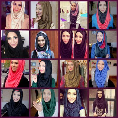 modern hijab styles step  step tutorials  fashionglint