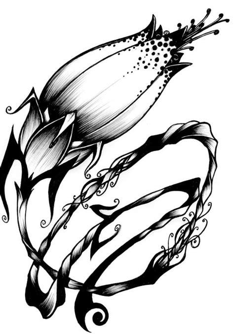 tattoo flash art  print   clip