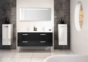 meuble salle de bain faible profondeur leroy merlin With meuble haut de salle de bain leroy merlin