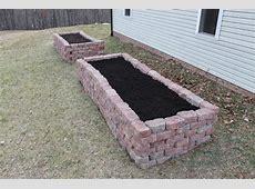 Brick Raised Vegetable Beds Modern Diy Art Designs