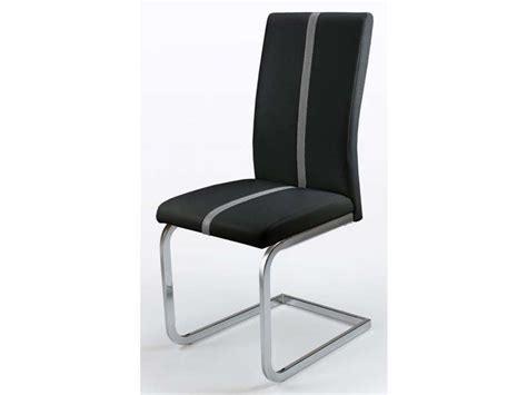 chaise noir conforama chaise enzo coloris noir vente de chaise conforama