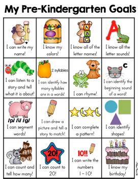 pre kindergarten goals sheet by teachers 963 | original 2049291 1