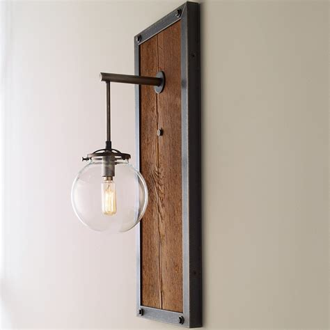umanoff collection rectangular industrial sconce small