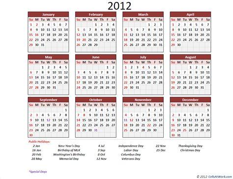 perpetual calendar advanced cells  work