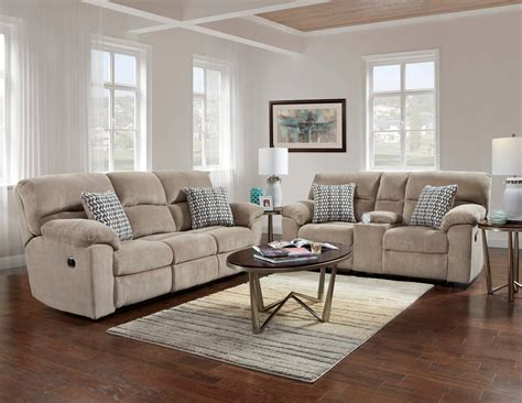 Living Room Sofas And Loveseats by Chevron Seal Reclining Sofa And Loveseat Reclining