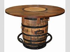 Jack Daniels Whiskey Barrel Table Oaksmith Interiors