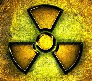 fläche kreis rechner gelbes symbol der strahlung auf einem stahl hintergrund stockfoto colourbox