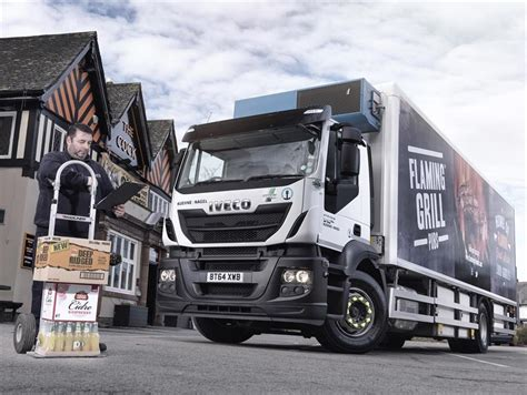 Spirit Pub Drinks To Iveco For Cv Fleet Replacement