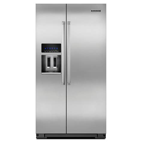 Counter Depth Refrigerator Dimensions Sears kitchenaid 24 cu ft counter depth side by side