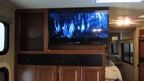 rv home theater install thor ace  youtube