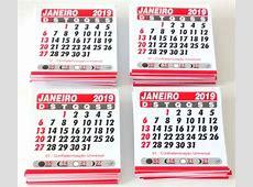 Calendario 2019 Para Imprimir Com Feriados