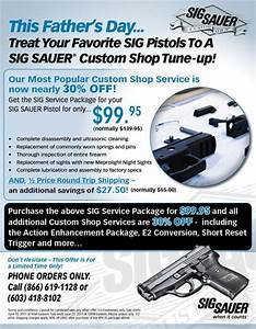 SIG Sauer Offers Special Father's Day Gun Service ...
