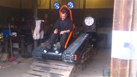 home  tracked vehicle finished  driving youtube