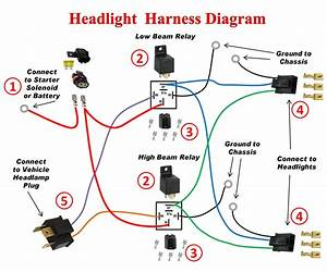 Low Beam Headlight Socket Wiring Diagram Gm