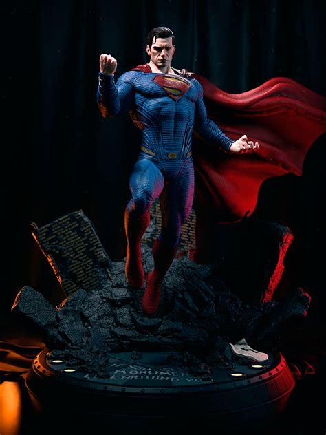 ArtStation - Fan Art Painted Superman JL , Gonza Estay