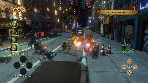 Teenage Mutant Ninja Turtles Ps3 Gameplay Gamesworld