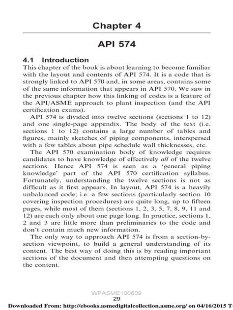 ch4- API 574.pdf | Pipe (Fluid Conveyance) | Mechanical Engineering