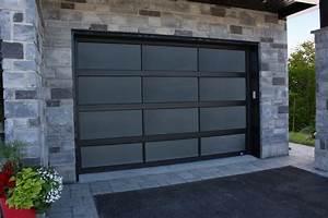 Photos de portes de garage residentielles garex for Porte de garage noir