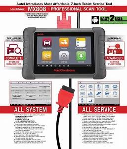 Autel Maxicheck Mx808 All Systems All Service