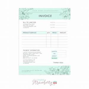 invoice template photography invoices wedding photography With photography invoice template psd