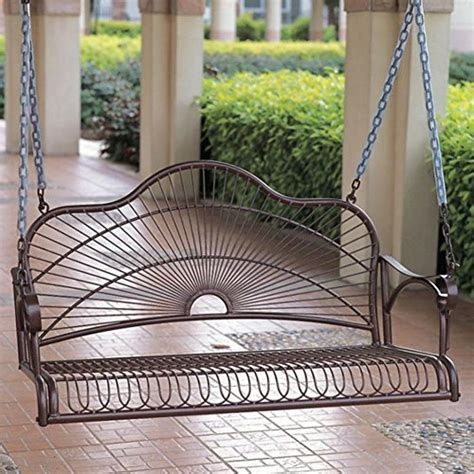 wrought iron porch swing best iron porch swing out of top 11 2018 1667