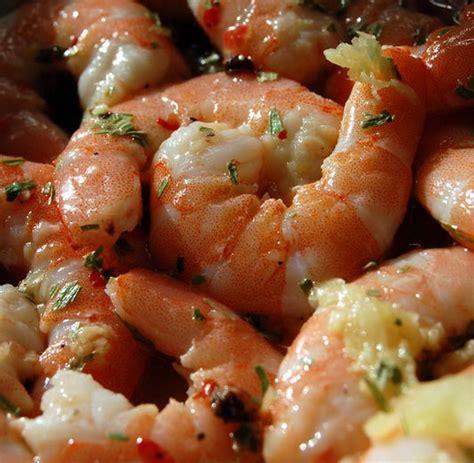 recette de cuisine thailandaise crevettes marinées au citron et au gingembre recette