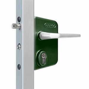 Serrure Cylindre Européen : serrure inox vert pour portail battant fouillot ~ Edinachiropracticcenter.com Idées de Décoration