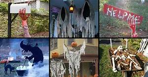 46 Successful DIY Outdoor Halloween Decorating Ideas