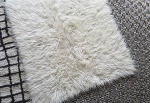 Tapis Poil Long Blanc : tapis traditionnel flokati lovmint boutique de ~ Dailycaller-alerts.com Idées de Décoration