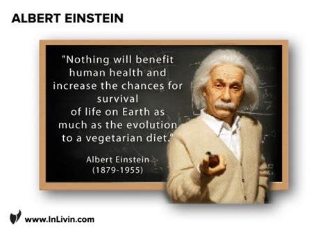 Einstein Quotes Vegetarian Diet
