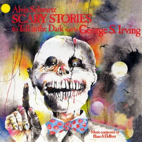 alvin schwartz scary stories     dark read  george  irving cd