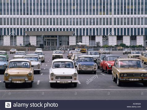 berlin car trabant cars in east berlin before the wall came during the cold stock photo royalty free
