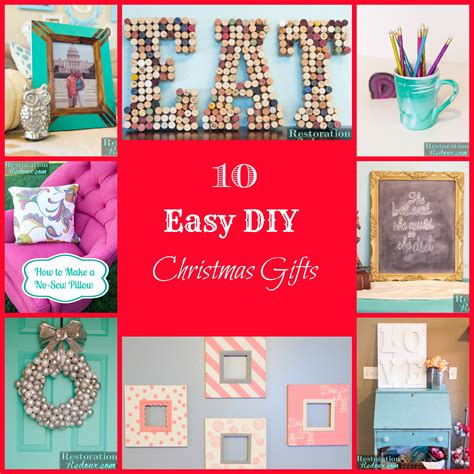 10 easy diy christmas gifts daily dose of style