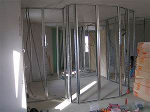 Couper Rail Placo : 01 08 2011 cloisons int rieures mornet ~ Melissatoandfro.com Idées de Décoration