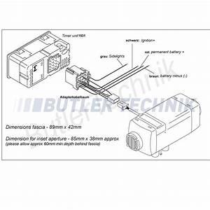 Webasto Heater Timer Upgrade Kit 12v