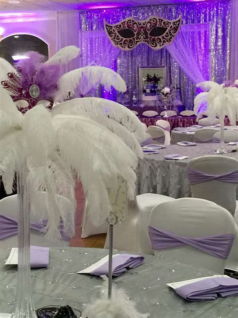 masquerade quinceanera party ideas photo    catch