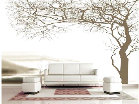 Entzückende Ideen Tapeten Mit Baummotiv Und Schöne Wand
