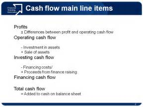 Operating Cash Flow Statement