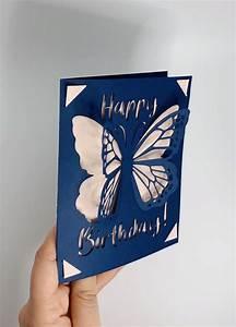 Cricut, Joy, Butterfly, Pop, Up, Card, Template, Svg, File, Instant