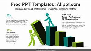 3d Square Pillar Powerpoint Diagram For Free