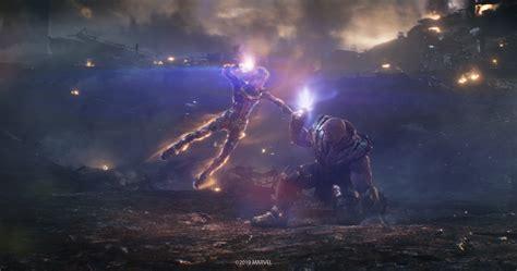 Captain Marvel Vs Thanos Avengers