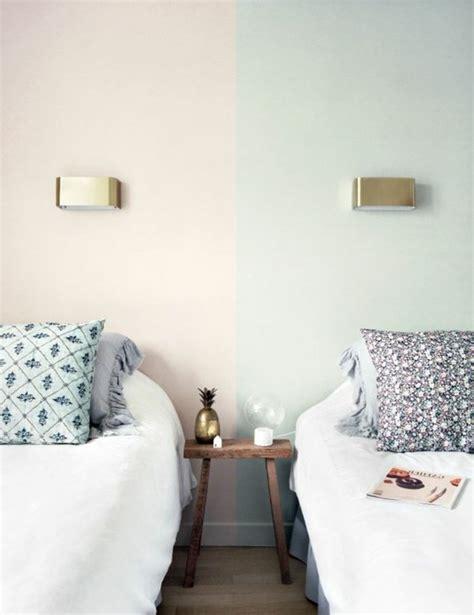 peindre une chambre avec deux couleurs peindre une chambre en deux couleurs meilleures images d