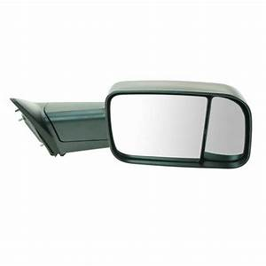 Ram 1500  2500  300 Truck Tow Mirror Manual Folding