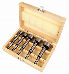 Forstnerbohrer Set Test : forstnerbohrer 5 teiliger satz 15 35 mm in holzkiste ~ Watch28wear.com Haus und Dekorationen