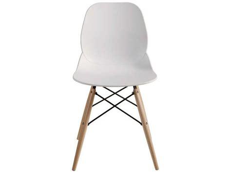 chaise orca coloris blanc conforama pickture