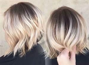 Comment Faire Un Carré Plongeant : balayage ombr blond id es 2017 pour tout type et longueur de cheveux ~ Dallasstarsshop.com Idées de Décoration