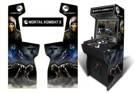 xtension arcade cabinet dimensions 187 customer submitted custom permanent size mortal