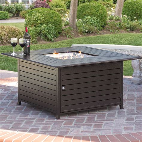 Tisch Mit Feuerstelle Gas by Best Choice Products Extruded Aluminum Gas Outdoor